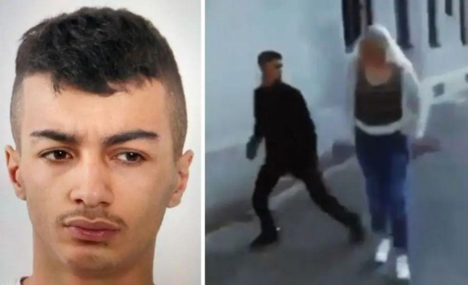 Muslim napadl na ulici Švédku, spravedlnosti uniká (video)