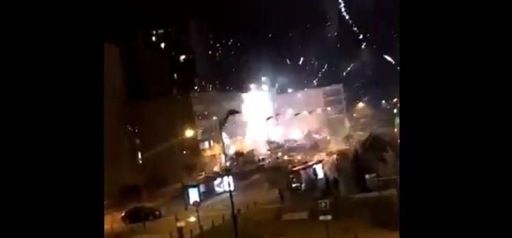 Další útoky mohamedánských invazistů na policii v Lyonu (video)