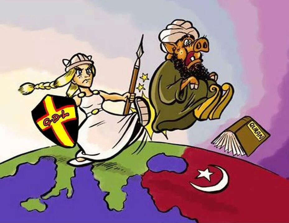 Dochází ke kolonizaci a islamizaci Evropy s podporou samotných Evropanů