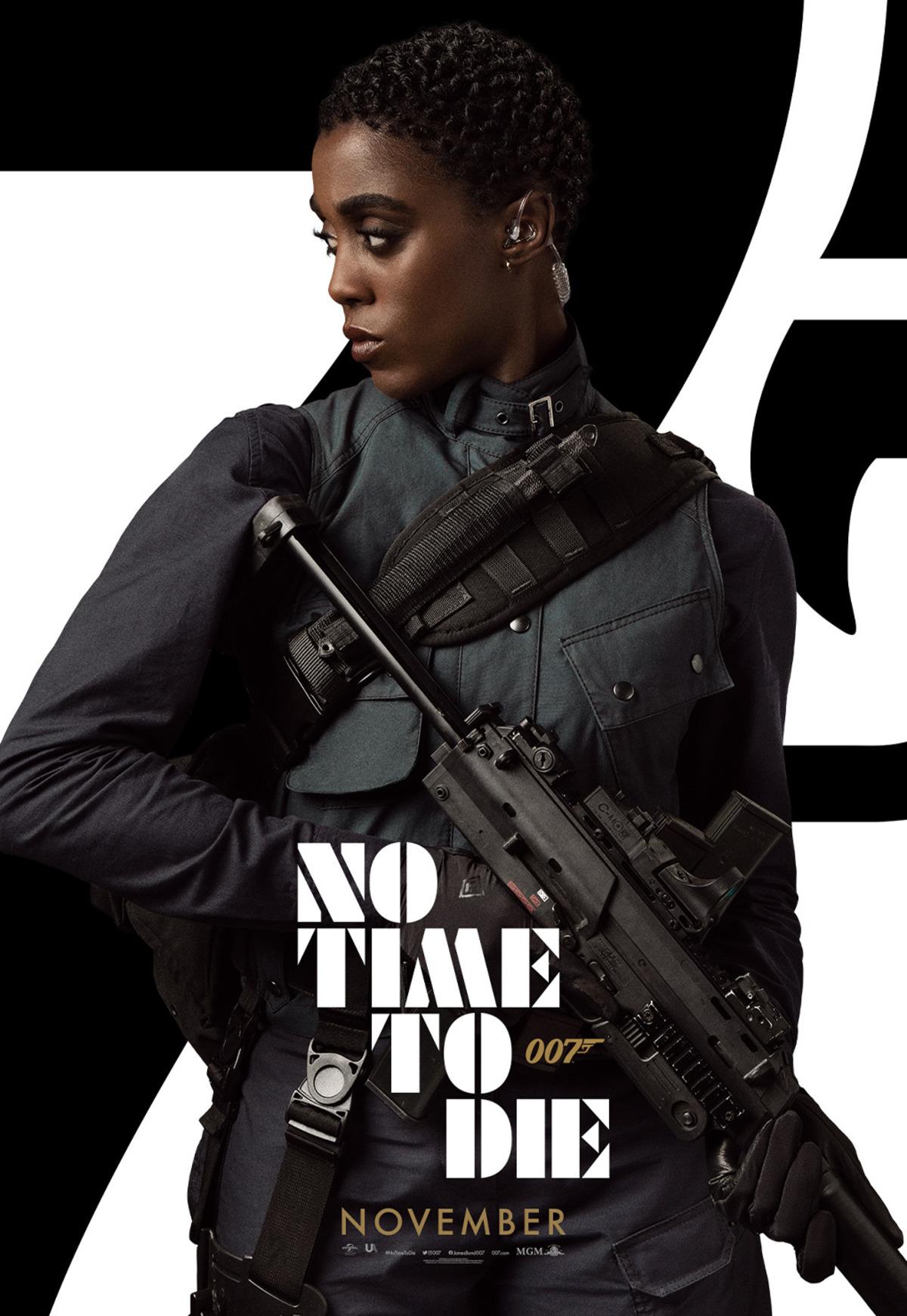 Tato černoška je nový James Bond