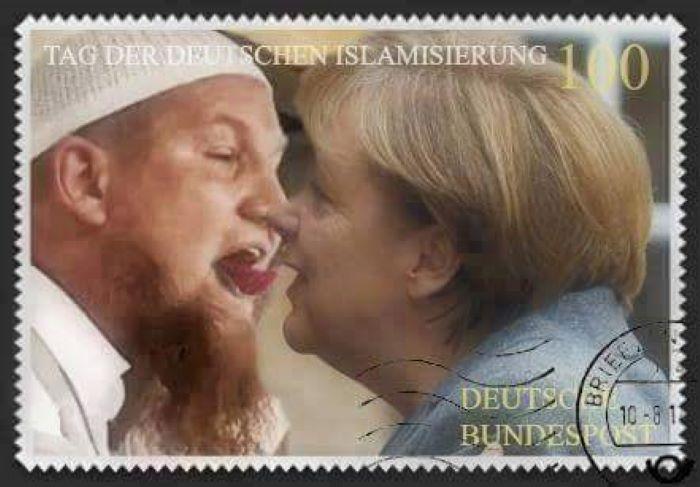 Němci se s mohamedány paktovali už za Adolfa, za Angely v tom pokračují