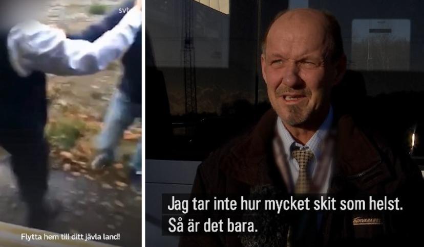 """""""Vrať se zpátky do své zasrané země"""", řekl švédský řidič autobusu vetřelci, který ho napadal"""