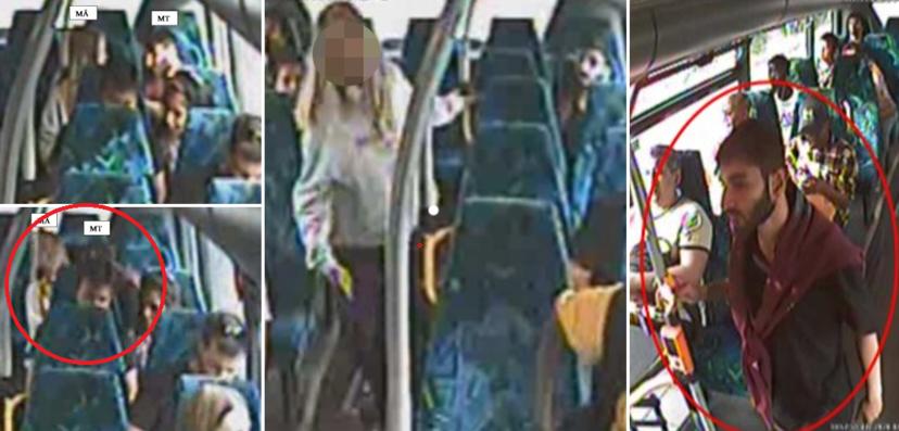 Švédka byla v autobuse napadena vetřelcem, i když křičela, nikdo jí nepomohl