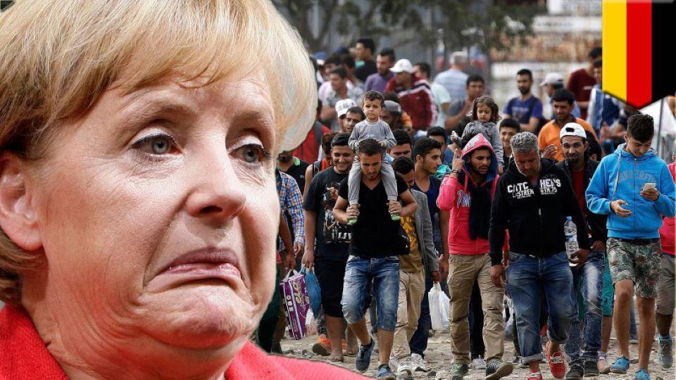 Merkelová povolila islámskému teroristovi pobyt v Německu