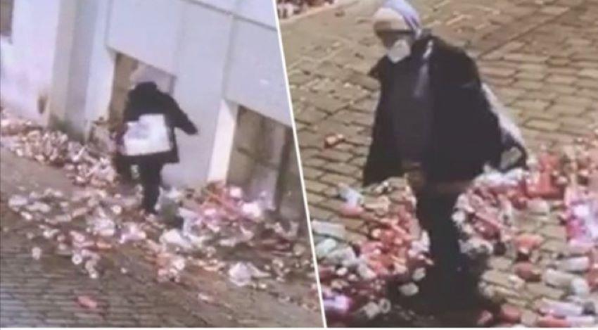 Muslimka ničila pietní místo, vytvořené  obětem vídeňského teroristy (video)