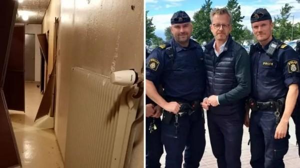 Švédská policie vykradené sklepy a podobnou trestnou činnost vůbec neřeší