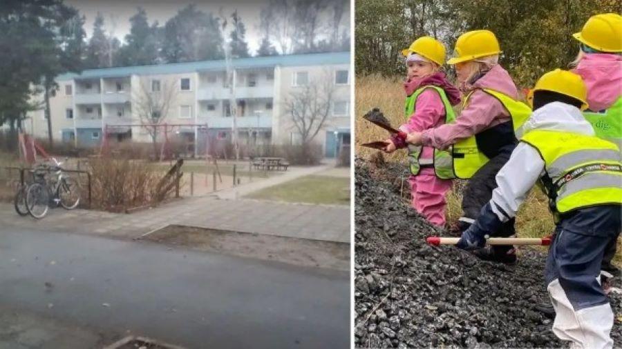 Švédská obec nutí Švédy, aby dávali své děti do školek v muslimském ghettu