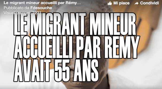 Africký vetřelec byl v Itálii přijat jako nezletilec, ve Francii zjistili, že mu je 55 let!