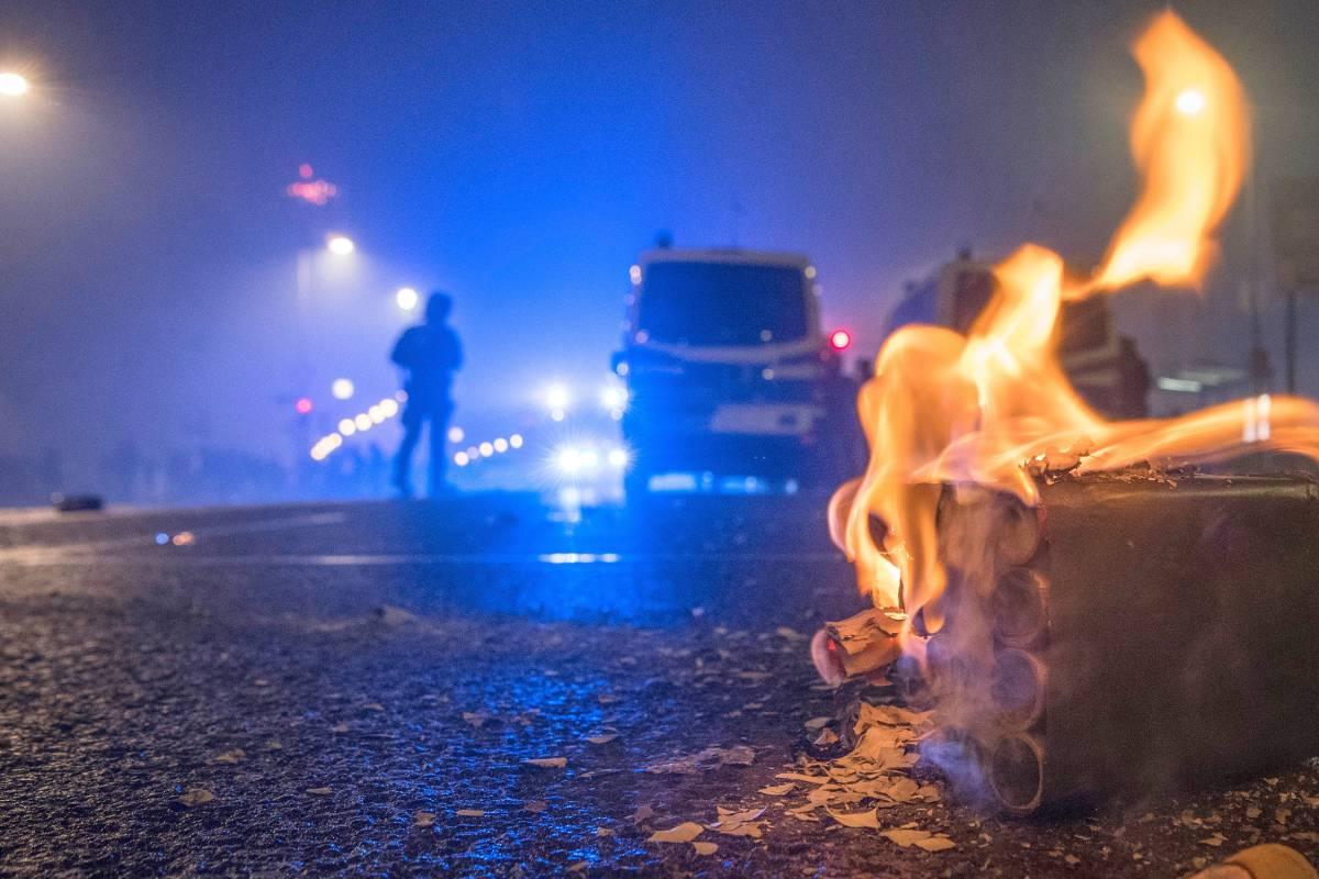 Čtvrť v německém Essenu se stále nevzpamatovala ze silvestrovských nepokojů (video)