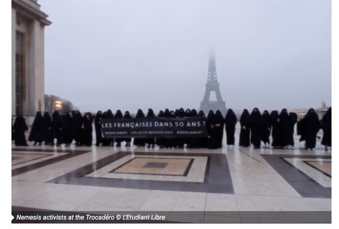 Francouzky protestovaly proti islamizaci země