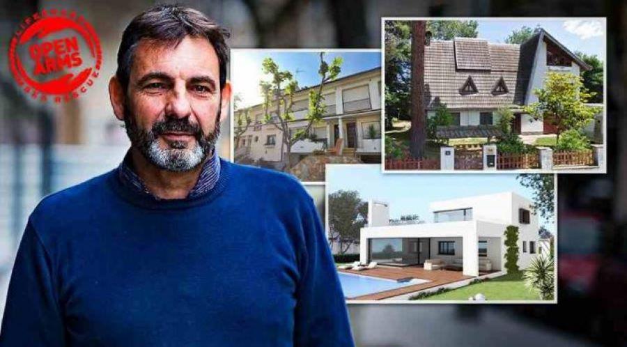 Toto je bohatý pašerák z neziskovky Open Arms, který chce dostat Salviniho do vězení
