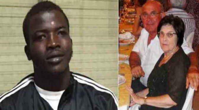 Africký vetřelec brutálně zavraždil italské důchodce, ženu znásilnil