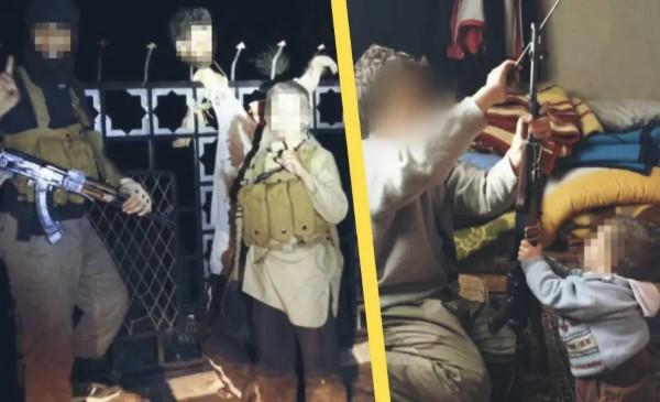 Děti ISIS ze Švédska pózují s useknutými hlavami