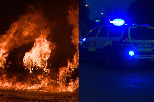 Bombové útoky, hořící auta – to byla rušná noc v islamizovaných švédských městech (video)