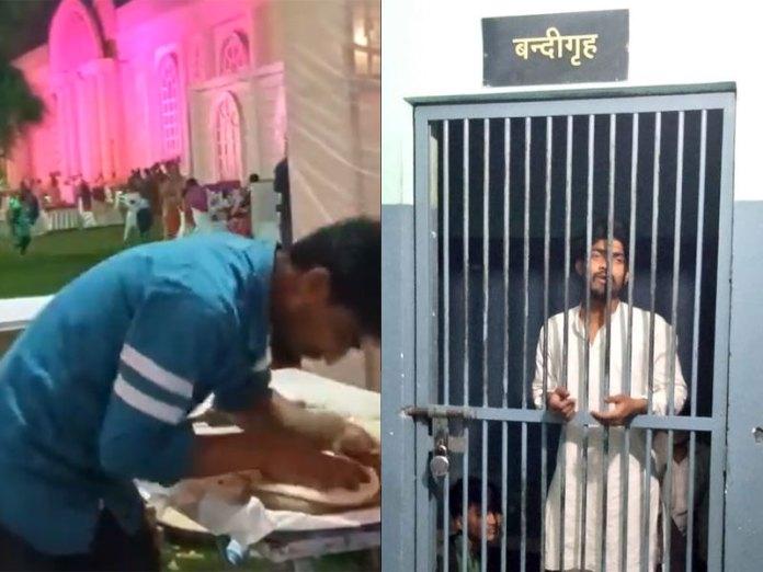 Muslim byl zatčen za to, že plival na jídlo na indické svatbě (video)