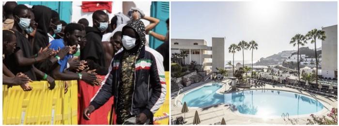 Na Kanárských ostrovech nastěhovali lidem do jejich luxusních bytů africké vetřelce, majitelé do nich nesmí