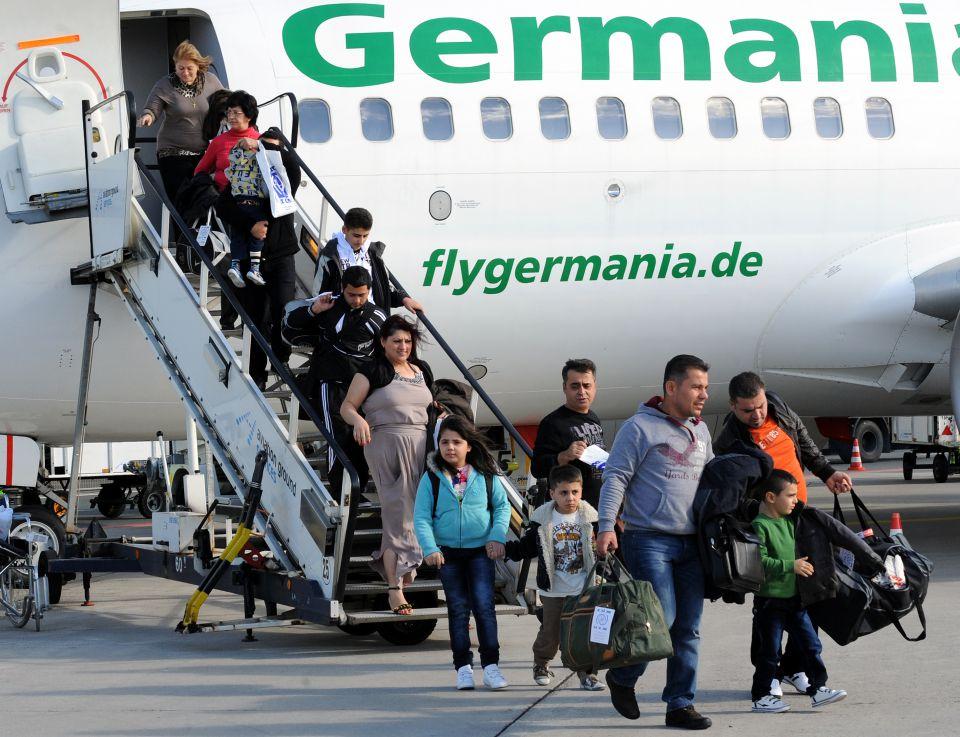 Řecko poskytuje přivandrovalcům pasy, které jim umožní dostat se do Německa