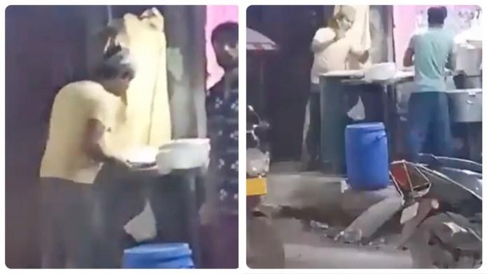 Další muslimský kuchař, plivající na jídlo nemuslimům (video)