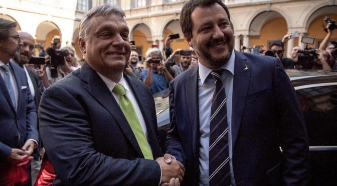 Ve čtvrtek se sejde Salvini, Orbán a Morawiecki – zakládají novou nacionalistickou alianci