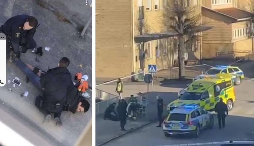 Ve Švédsku včera útočil Afghánec