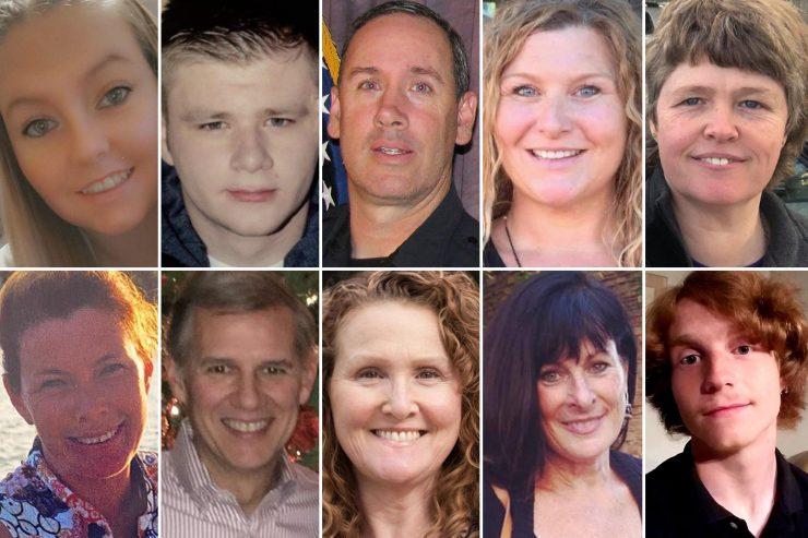 Toto je všech 10 obětí syrského vetřelce Ahmada z Colorada