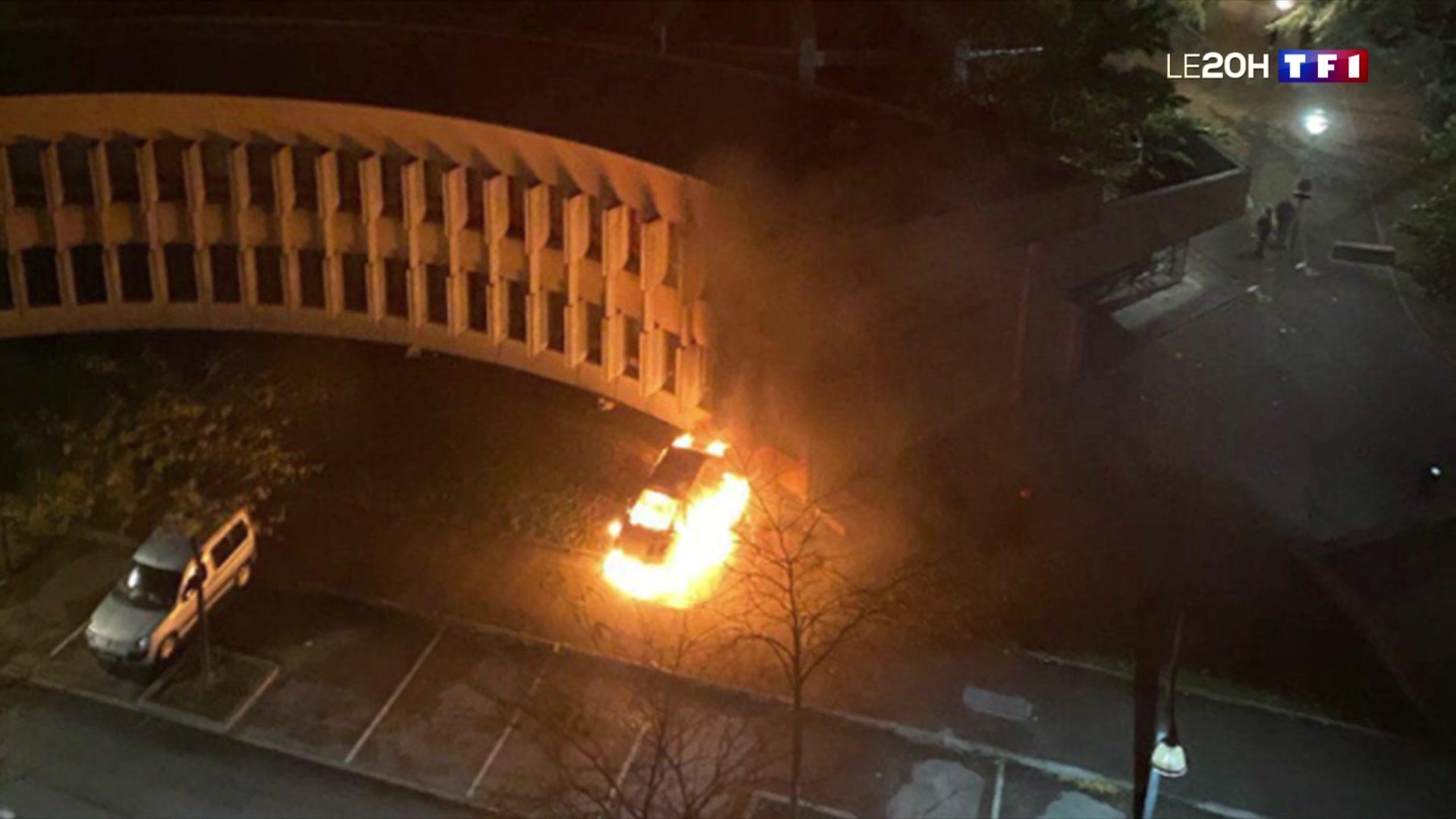 Další divoká noc ve Francii – požáry, mnoho vyhořelých aut a výbuchy (videa)