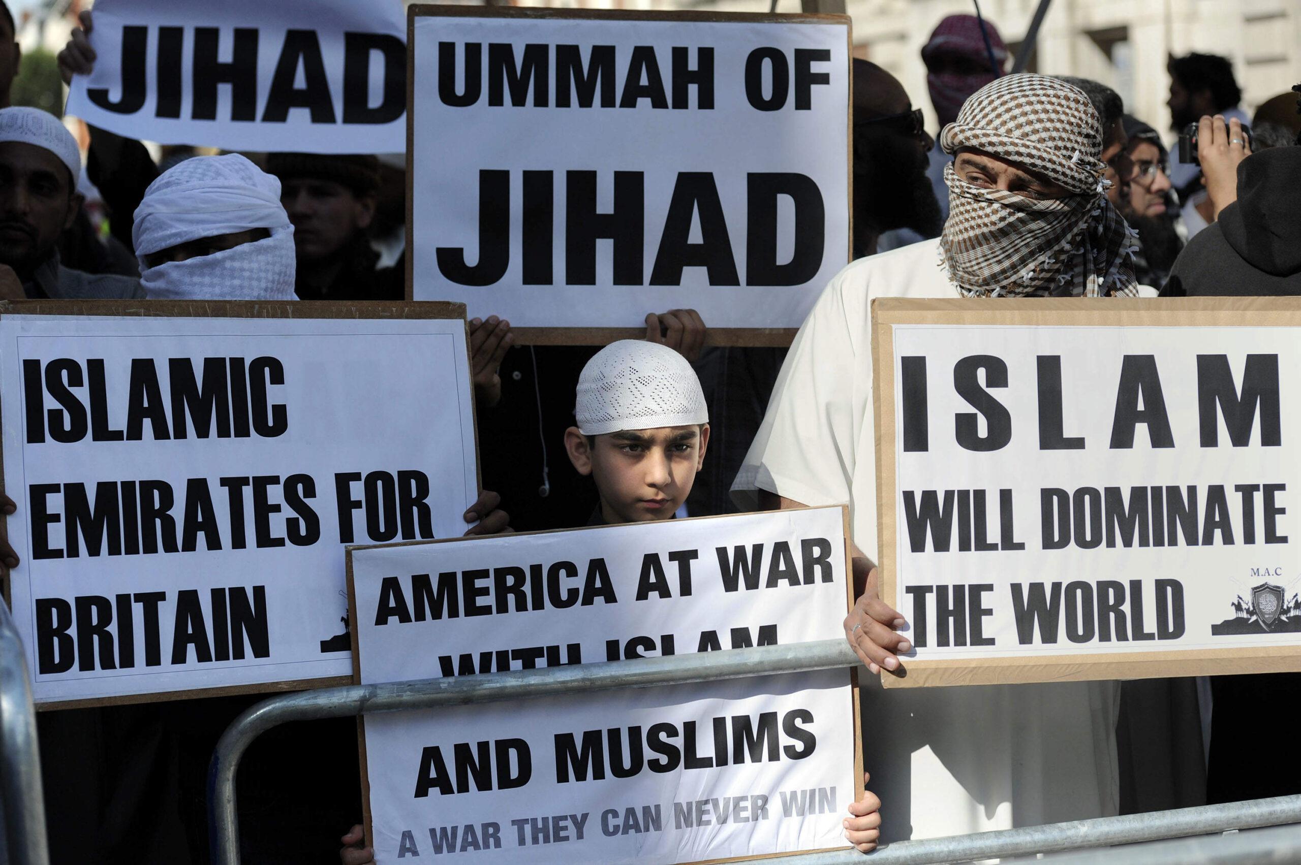 Islám není náboženství míru, islám je pro válku