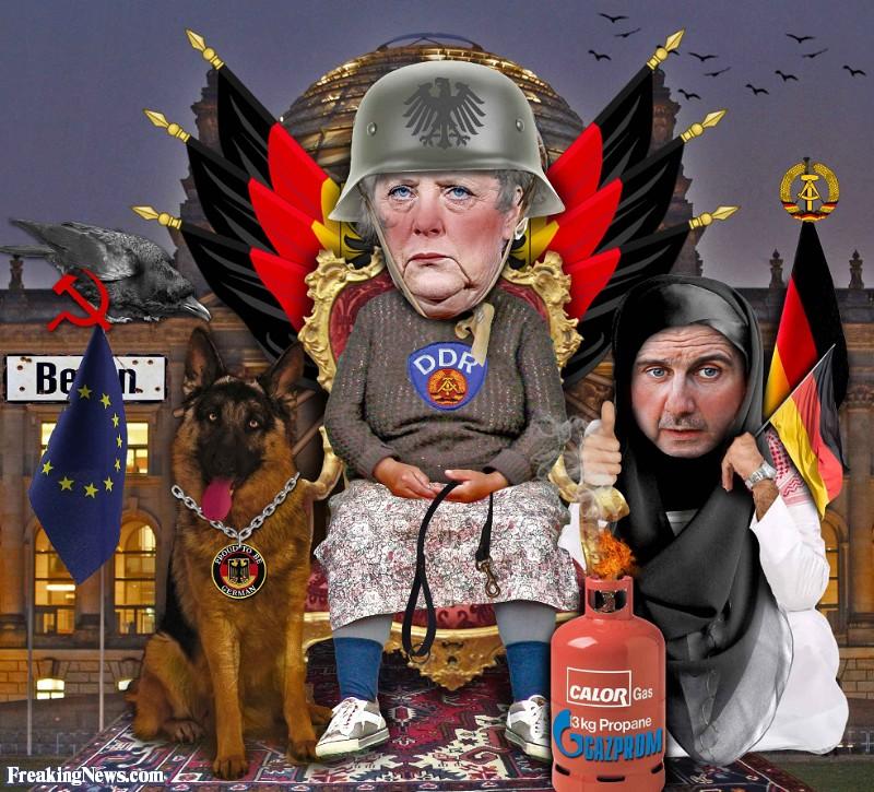 Německá vláda financuje radikální muslimy i teroristickou Antifu