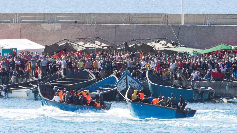 Letos už připlulo na Kanárské ostrovy skoro 3000 Afričanů