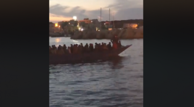 Spousta džihádistů připluje z Afriky v noci, zcela nepozorovaně (video)
