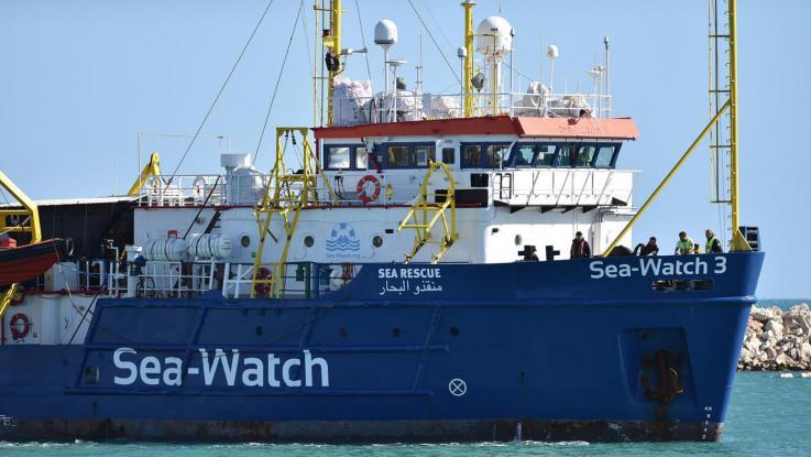 Loď pašerácké neziskovky Sea Watch 3 byla v Itálii zabavena
