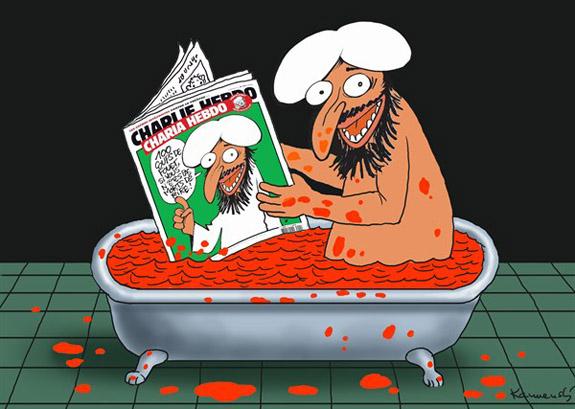 Německo: Hesenské ministerstvo školství varuje před ukazováním karikatur Mohameda, pokládá je za nebezpečné