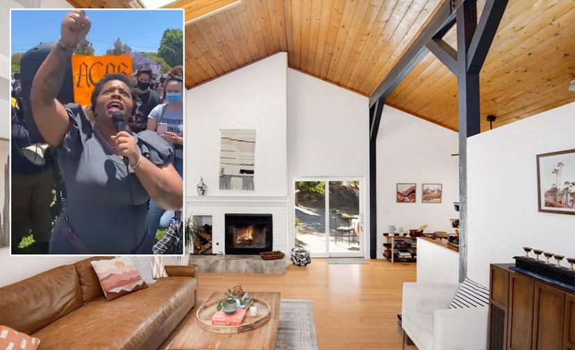Zakladatelka BLM si koupila luxusní vilu v oblasti, kde žije 99% bělochů