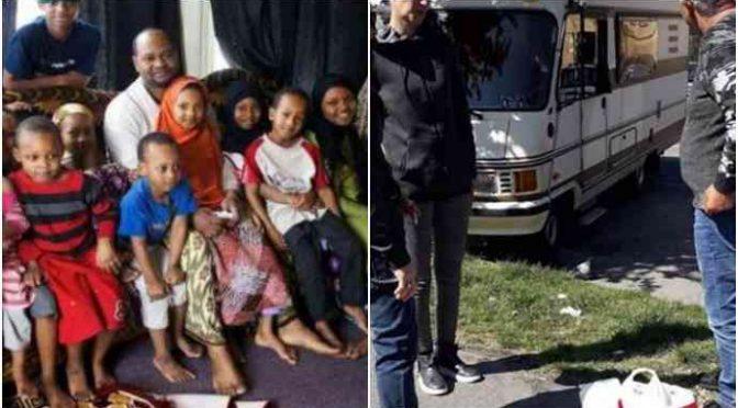 Syřan Ali s rodinou dostal v Itálii dům, zatímco Ital Marco s rodinou žijí v karavanu