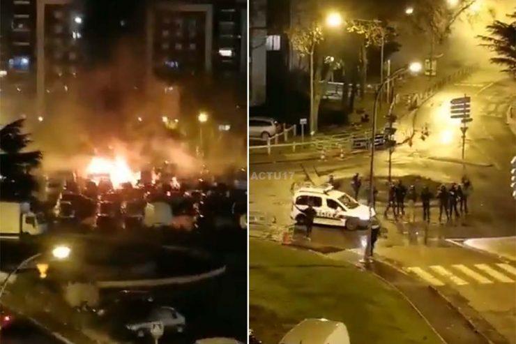 Francie: Nepokoje pokračují, šíří se do dalších měst (videa)