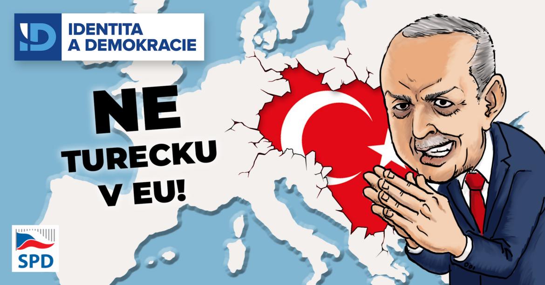 Turecko stále patří ke kandidátským zemím na vstup do EU, pro ovládnutí Evropy však členství nepotřebuje