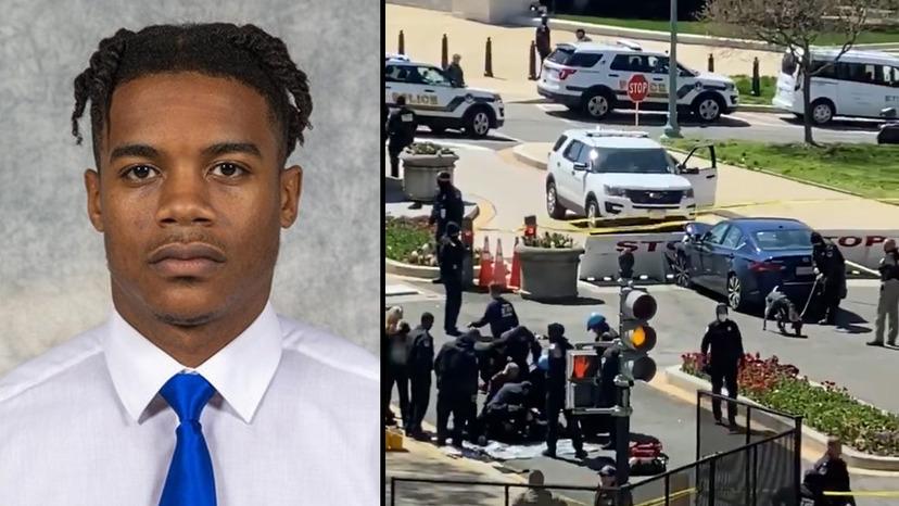 Černoch, který včera útočil u Kapitolu, byl muslim