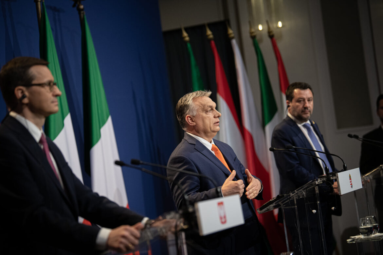 Padne kvůli schůzce Salvini – Orbán – Morawiecki – italská vláda?