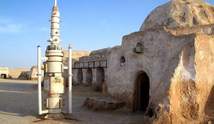 Místo natáčení Hvězdných válek se stalo tuniskou centrálou teroristů Islámského státu