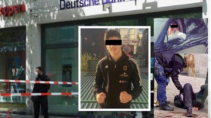 Dva Arabové se v Berlíně neúspěšně pokusili vyloupit banku, jeden byl postřelen