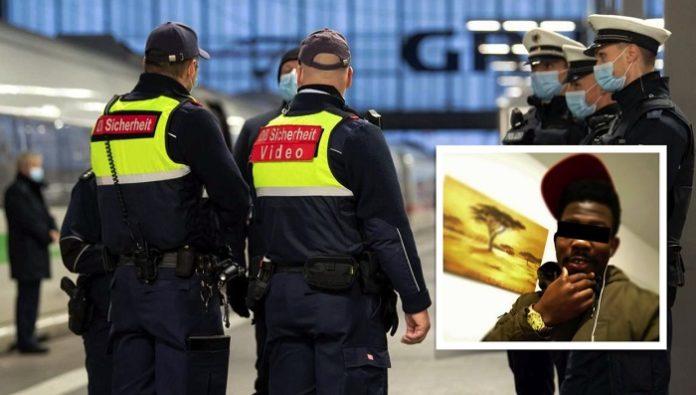 Německo: Afričan kousl člena železniční ochranky do hlavy, druhého těžce zranil, přesto zůstal na svobodě