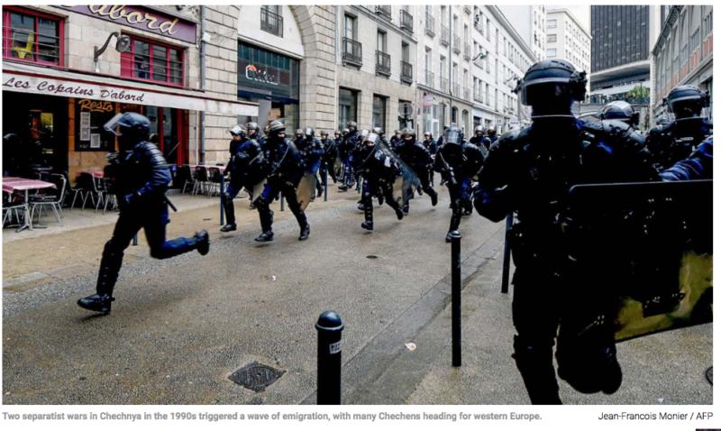 Ve Francii zatkli mladé Čečence, kteří připravovali teroristický útok