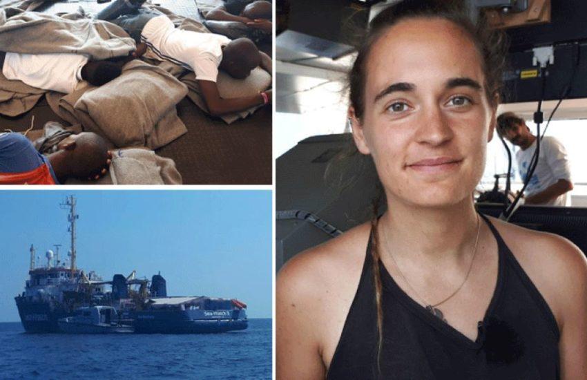 """""""Dovezla jsem mučení, sexuální násilí, obchodování s lidmi a vraždy"""", napsal politik AfD k fotu Racketeové"""