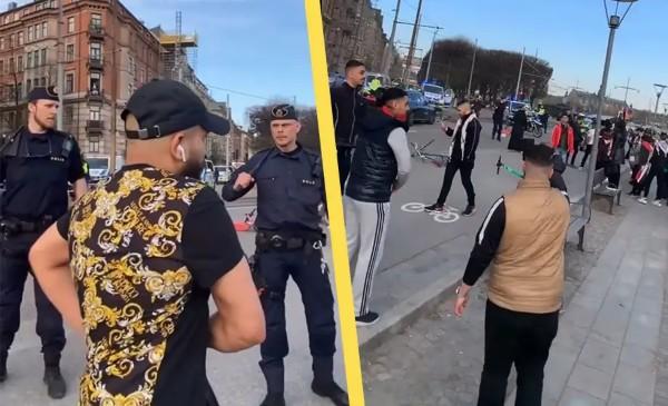 """""""Allahu akbar!"""", také ve Švédistánu včera vyrazili do ulic mohamedáni (video)"""