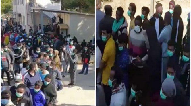 Lampedusa opět přestává zvládat nápor lodí z Afriky (videa)