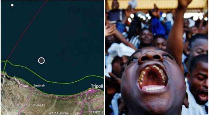 """Libyjci """"vyfoukli"""" 600 klientů pašeráckým neziskovkám, vrátili je zpět do Libye"""