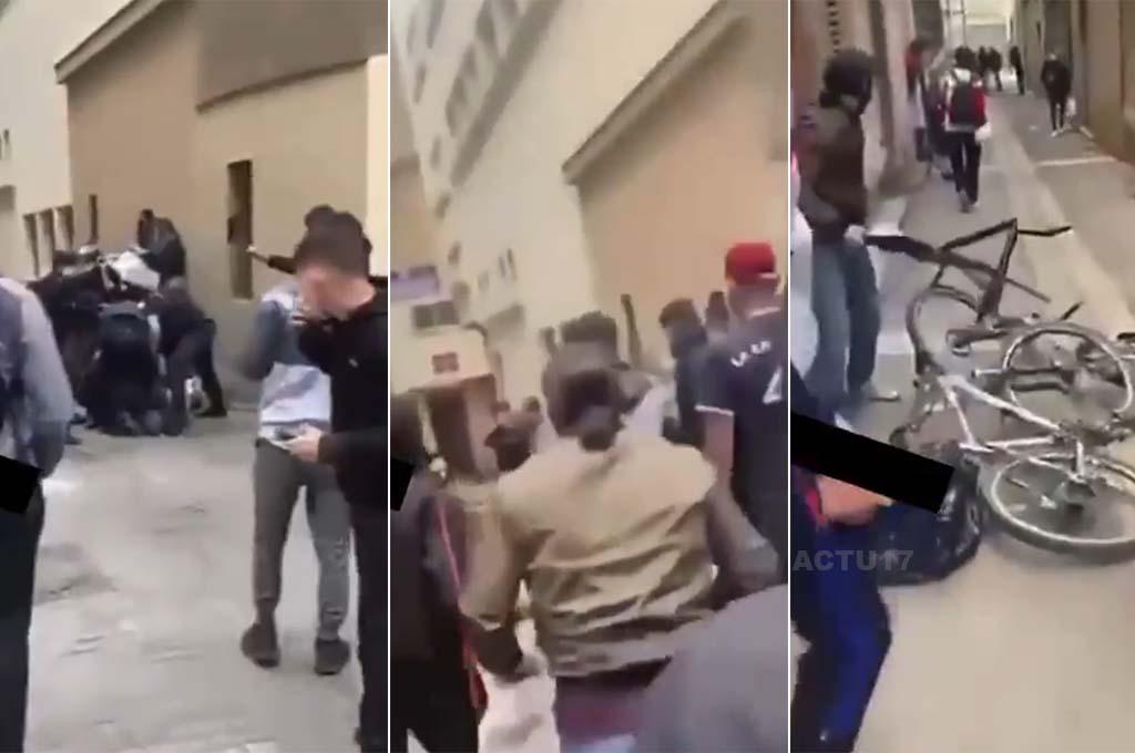 Marseille: 30 lidí napadlo v místní no-go zóně policisty, zahnali je a ukradli jim kola (video)