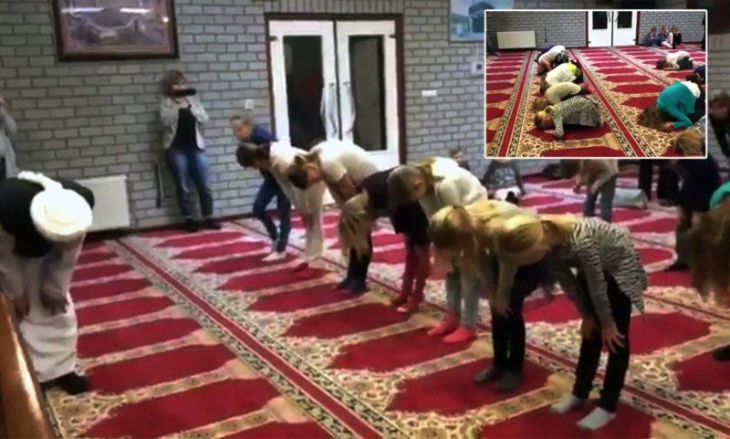 Podívejte se, jak v Holandsku indoktrinují islámem školáky v mešitách (video)