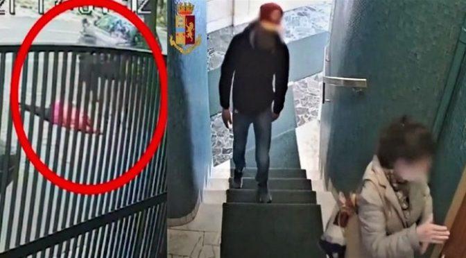 Otřesné! Podívejte se, jak v Miláně přepadají, brutálně bijí a okrádají důchodkyně (video)