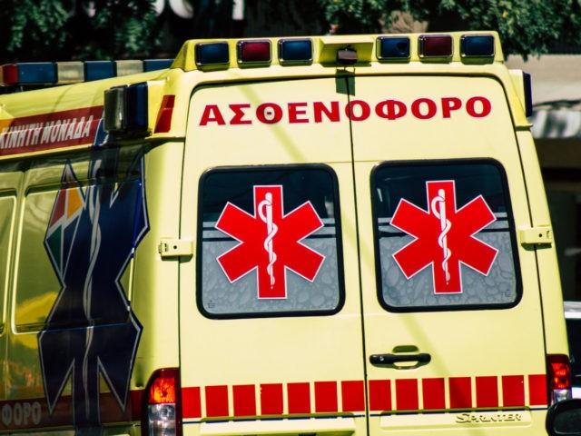 V Řecku využili pašeráci na převoz ilegálů přes hranice sanitku